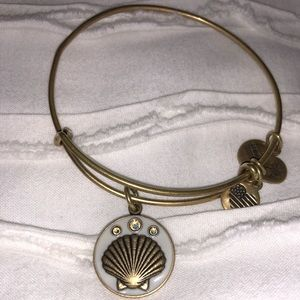 Alex and Ani Jewelry - Alex and Ani Seashell Bangle